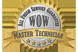 All Fresh Service Guarantee Seal